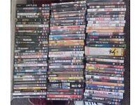 100 DVDs - £20!