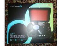 Vinyl Record Player - New