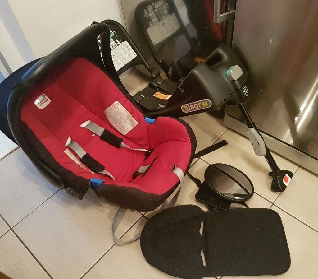Britax Infant Car Seat With Isofix Base 45