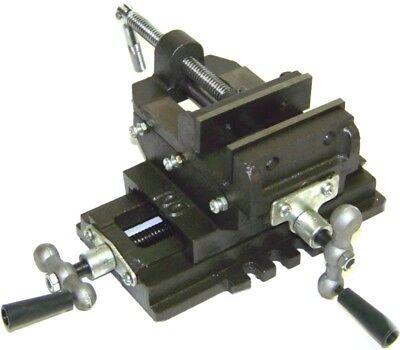 3 Cross Slide Vise Drill Press Heavy Duty Metal Milling 2 Way X-y Clamp Vice