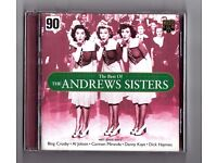 ANDREW SISTERS CD. FAVOURITES IN THE 1940's - SEE TITLE LIST