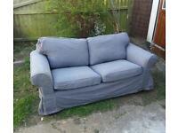 Ikea sofa. Small grey. Free.