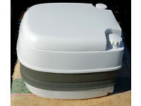UNUSED BLUE DIAMOND PORTABLE TOILET with chemicals