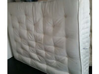 king size pocket spring orthopaedic mattress. high quality, 200 x 150cm. In very good condition.