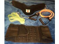 Fitness Lot Heavy Dipping Dip Belt, rubber band, resistance handles, lumbar belt