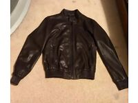 mens brown jacket small