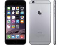 Apple IPhone 6 Plus Space grey factory unlock free to use any Sim Card Massive memory 128 Gb