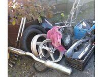 suzuki bandit 400cc bike parts
