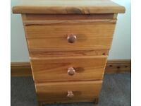 Small Chest Of Pine Drawers