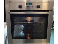 AEG single oven stainless steel