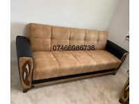 🚀EXCLUSIVE WHOLESALE PRICES !! Ottoman Storage Brand New Turkish Sofa Beds in Stock