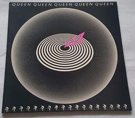 Queen - Jazz - LP Album Vinyl Record - Embossed Gatefold Sleeve - EMA788