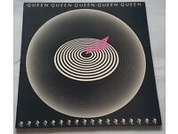 Queen - Jazz - LP Album Vinyl Record - Embossed Gatefold Sleeve - EMA788
