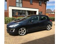 Peugeot 308 1.6 VTI Allure for sale as relocating abroad. 2 Previous owners and in V good condition!
