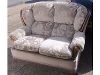 Two Seater Settee/Sofa - ideal for students or landlord