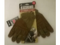 Blackhawk Fury Commando Gloves with Nomax Large