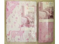 Unicorn Single Duvet Cover Set & Fitted Sheet
