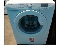 e312 white hoover 6kg 1400spin A+AA washing machine come with warranty can be delivered or collected