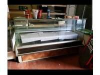 Large counter fridge