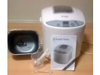 BREAD MAKER, RUSSEL HOBBS QUALITY, CHRISTMAS FRESH BREAD AND CAKES
