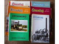 Collection of Traction Engine magazines.
