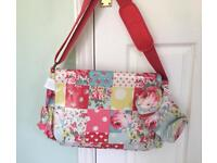 Cath kidston nappy bag patchwork oilcloth brand new