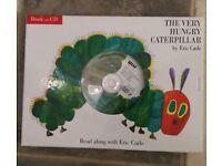 HUNGRY CATERPILLAR BOOK AND CD