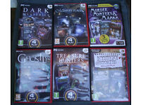 46 PC games, including some collectors editions.