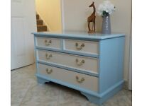 Chest of drawers antique pine