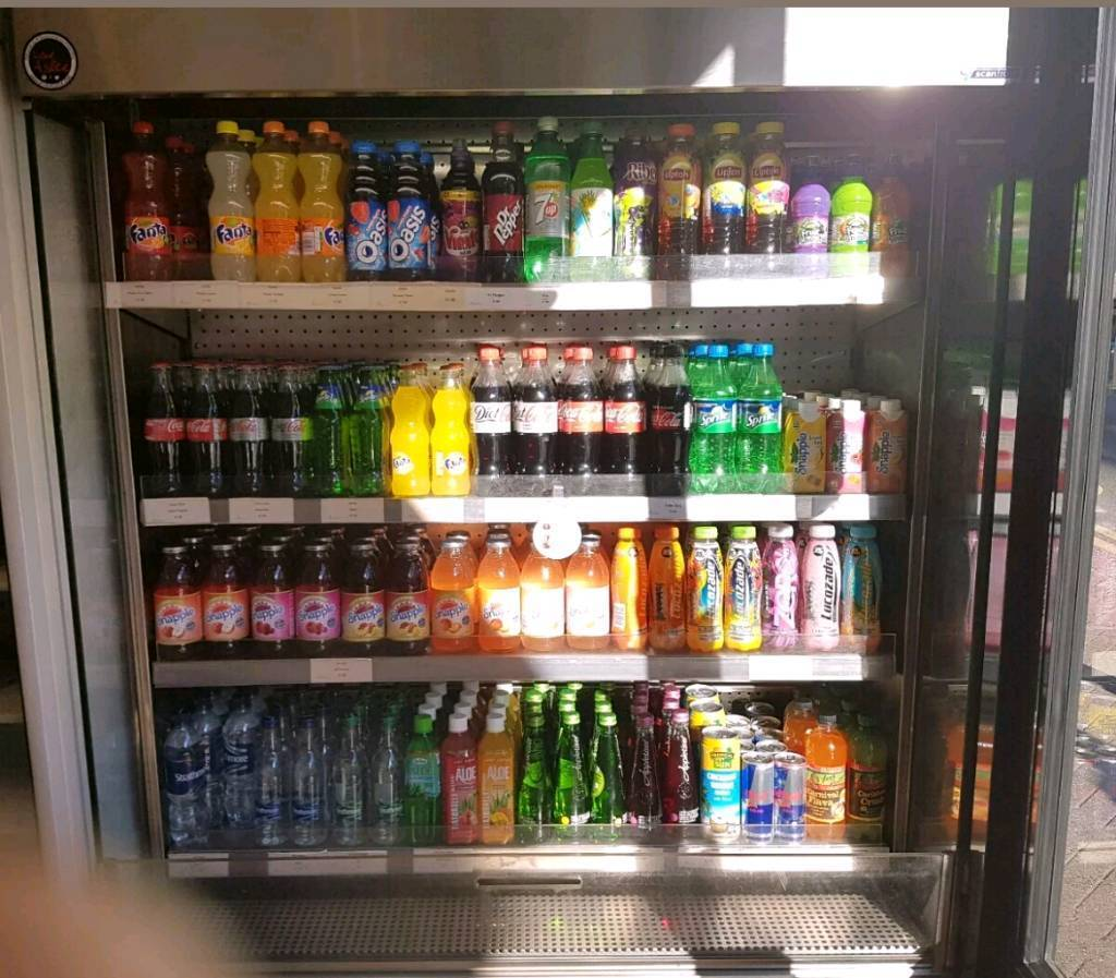 commercial fridge