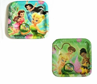 Tinkerbell Large Paper Plates Tableware Birthday Party Supplies](Tinkerbell Plates)