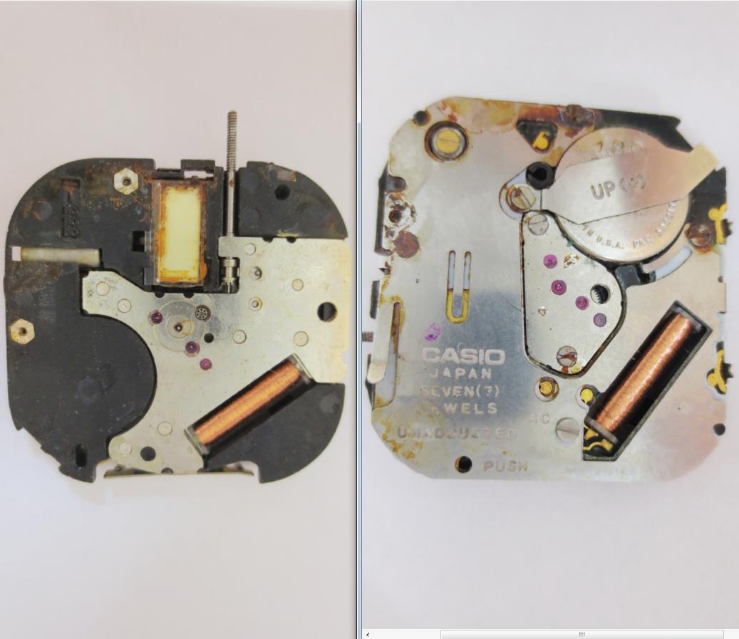 Casio 333 1 Non Funzionante + Tige Watch Movement Spares Parts Wristwatches Rare - casio - ebay.it
