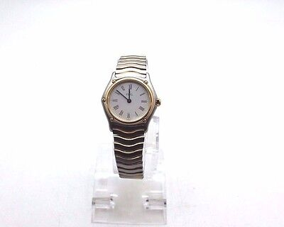 26mm EBEL Sport Classic Date 18K Stainless 181908 SWISS Ladies Watch