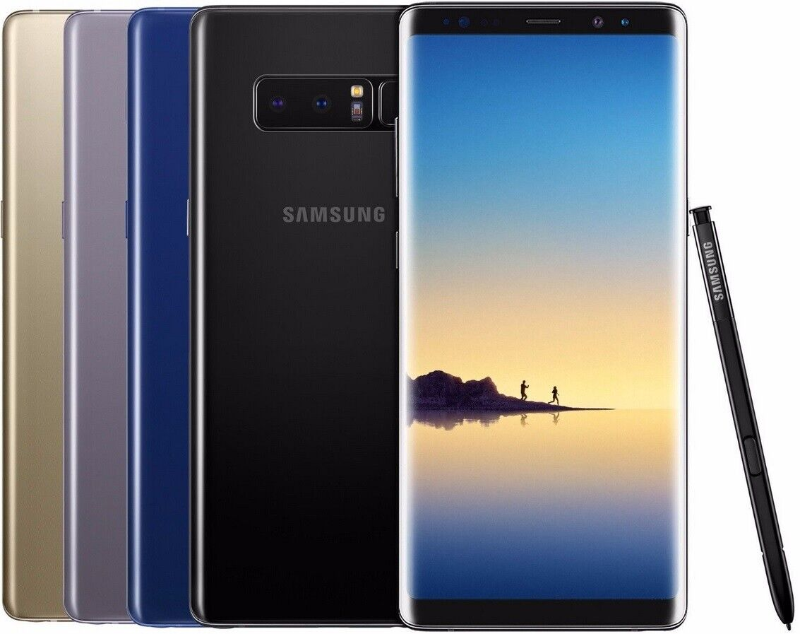 Samsung Galaxy Note 8 N950U 64GB GSM Unlocked Smartphone AT&T T-Mobile Phone