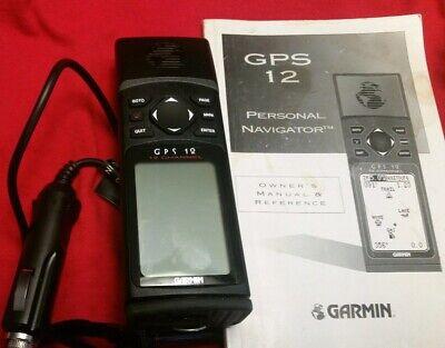 Garmin GPS 12 Handheld Personal Navigator-Hunting Fishing Hiking GEO #35848966