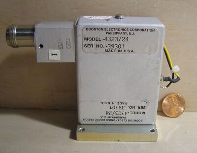 Boonton Electronics Model432324 Microwave Part.