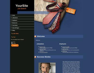 Profitable Job Posting Website For Sale Career Service Free Setup