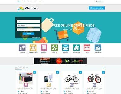 Classifieds Website Free Install Hosting