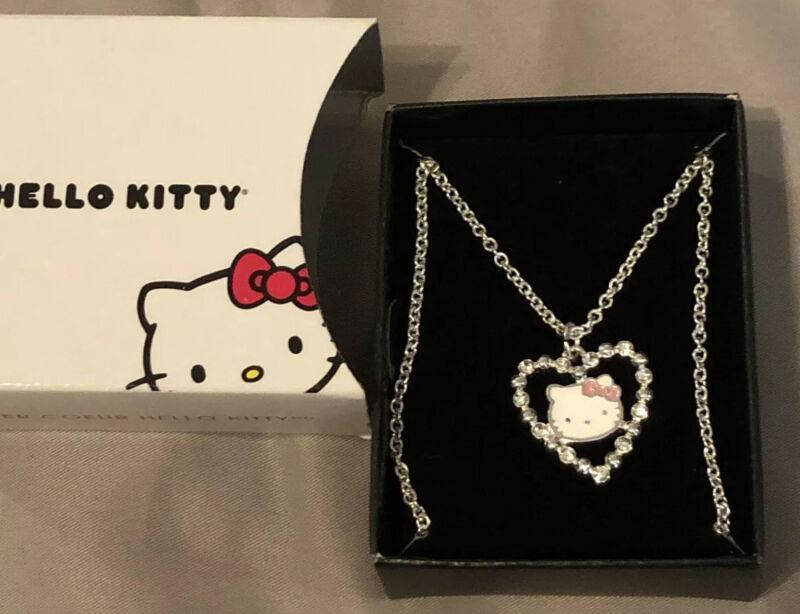 AVON Hello Kitty Heart Necklace - NEW IN BOX!