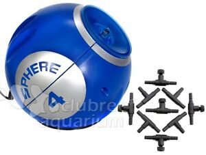 sphere 4 four aquarium air pump 100 gallon deep blue led