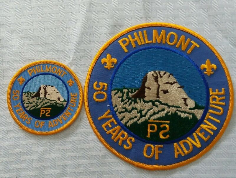 Philmont Scout Ranch 50 Years of Adventure Jacket and pocket patches mint