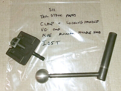 Emco Maximat Super 11 Lathe Tailstock Parts Locking Lever Assembly I05t