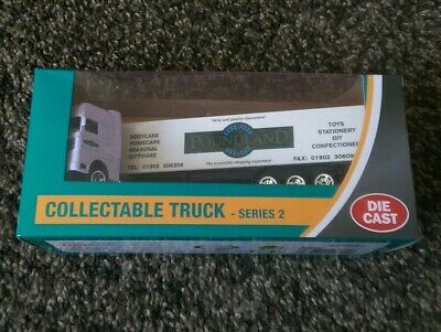 Poundland UK Stores Diecast Model Truck Lorry Series 2 great Christmas gift