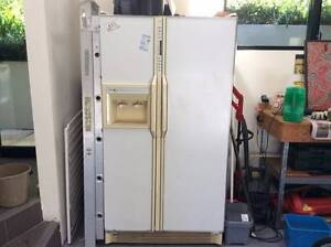 White double door fridge Hunters Hill Hunters Hill Area Preview