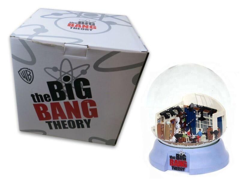 Big Bang Theory Snow Globe Snowglobe Warner Brothers Limited 004/500