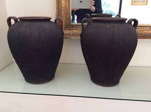 Black/ decorative pots/vases Hunters Hill Hunters Hill Area Preview