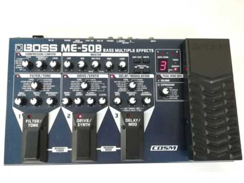 BOSS ME-50B Bass Multi-Effects [VGC] Free Shipping ✈FedEx/DHL✈