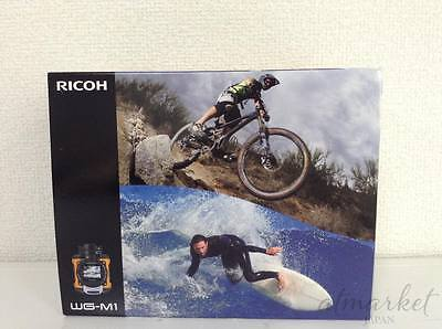 RICOH Waterproof Action Video Camera WG-M1 Orange Full HD From Japan New F/S