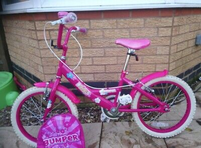 "Girls Daisy Bike - Pink, 14"" Wheels. Very Good Condition"
