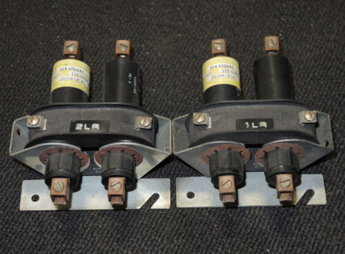 Durakool 2035A120AC 2 Pole Mercury Relay Contactor - Used